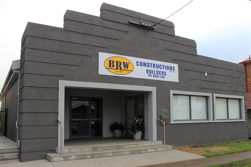 BRW Constructions Office Maitland